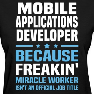 Mobile Applications Developer - Women's T-Shirt
