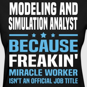 Modeling and Simulation Analyst - Women's T-Shirt