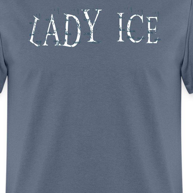 Lady Ice Logo Tee/FM on back