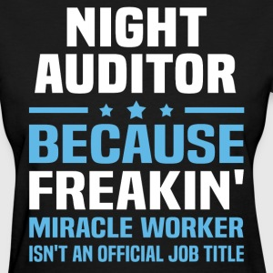 Night Auditor - Women's T-Shirt