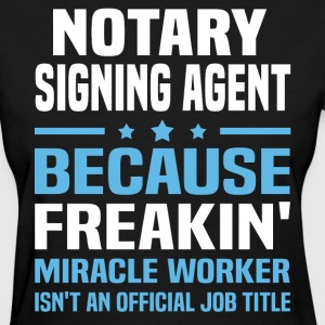 Notary Signing Agent - Women's T-Shirt