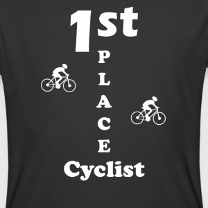 1st Place Cyclist bike riders front-shirt - Men's 50/50 T-Shirt