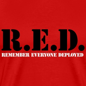 R.E.D. Remember ED - Men's Premium T-Shirt