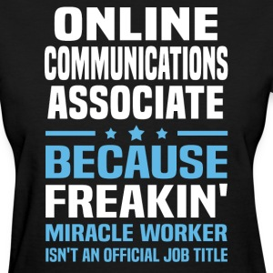Online Communications Associate - Women's T-Shirt
