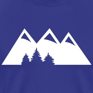 mountains T-Shirts - Men's Premium T-Shirt