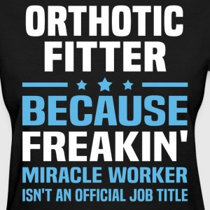 Orthotic Fitter - Women's T-Shirt