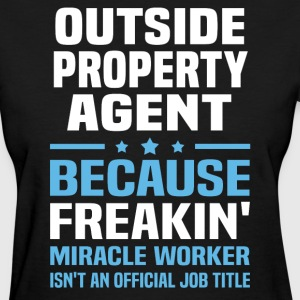 Outside Property Agent - Women's T-Shirt