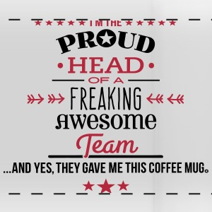 Freaking Awesome Team hea Mugs & Drinkware - Panoramic Mug