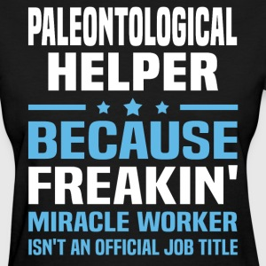Paleontological Helper - Women's T-Shirt