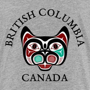 British Columbia Haida Kitty Kids' Shirts - Kids' Premium T-Shirt