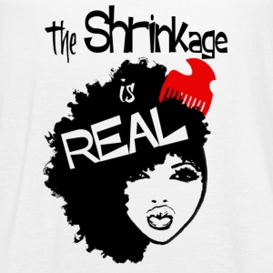 Shrinkage is Real RacerTank - Women's Flowy Tank Top by Bella