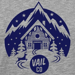 Vail Ski Resort - Men's Premium T-Shirt