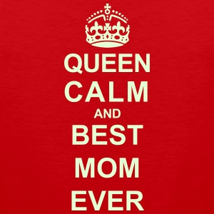 Queen Calm And (Best Mom) Sportswear - Men's Premium Tank