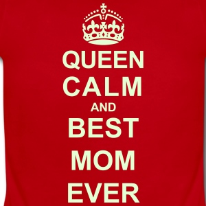 Queen Calm And (Best Mom) Baby Bodysuits - Short Sleeve Baby Bodysuit