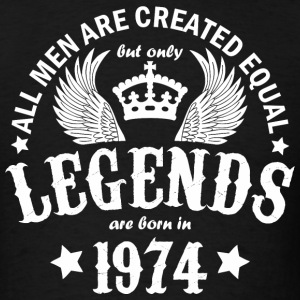 Legends are Born in 1974 - Men's T-Shirt