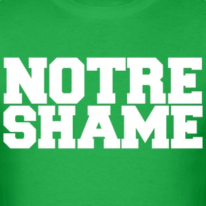 Notre Shame football shirt  - Men's T-Shirt