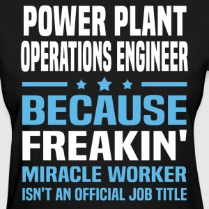Power Plant Operations Engineer - Women's T-Shirt
