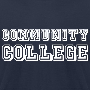 Community college - Men's T-Shirt by American Apparel