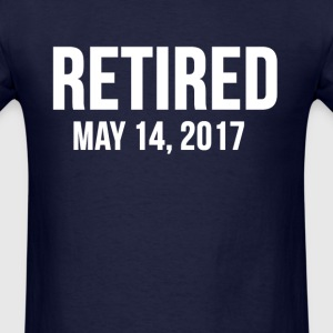 The Number 2 is RETIRED on May 14, 2017 T-Shirts - Men's T-Shirt