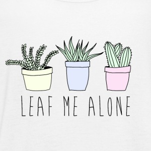 Leaf me alone Tanks - Women's Flowy Tank Top by Bella