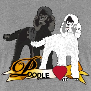 Poodle Love - Women's Premium T-Shirt