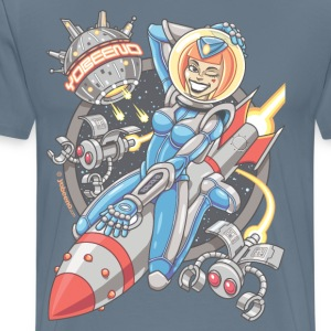 Yobeeno Cosmic Girl - Men's Premium T-Shirt