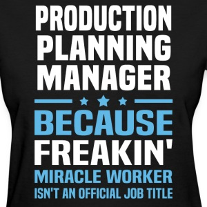 Production Planning Manager - Women's T-Shirt