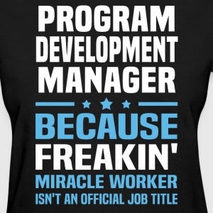Program Development Manager - Women's T-Shirt