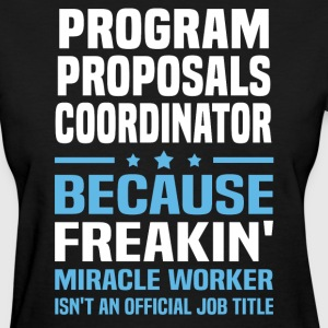 Program Proposals Coordinator - Women's T-Shirt