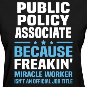Public Policy Associate - Women's T-Shirt