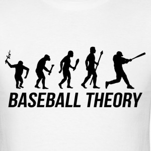 Baseball Evolution T Shirt - Men's T-Shirt