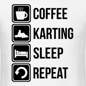 Funny Go Karting T Shirt - Men's T-Shirt