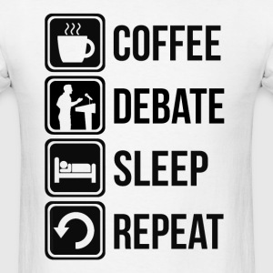 Debating Funny T Shirt - Men's T-Shirt