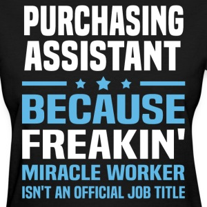 Purchasing Assistant - Women's T-Shirt
