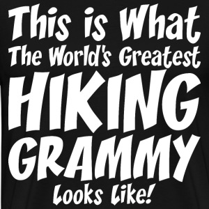 This Is What The Worlds Greatest Hiking Grammy T-Shirts - Men's Premium T-Shirt