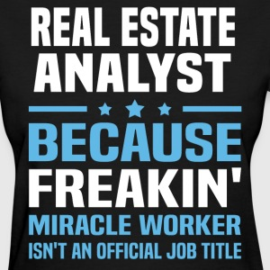 Real Estate Analyst - Women's T-Shirt