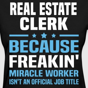 Real Estate Clerk - Women's T-Shirt