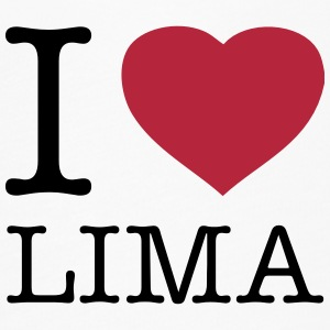 I LOVE LIMA - Women's Flowy T-Shirt