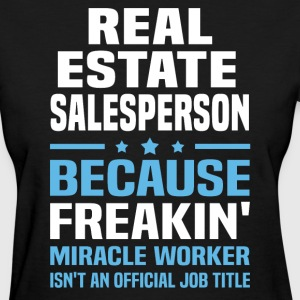Real Estate Salesperson - Women's T-Shirt
