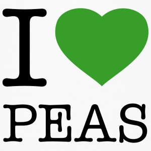 I LOVE PEAS - Women's Flowy T-Shirt
