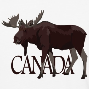Canada Moose Souvenir Jersey Shirt Men's - Baseball T-Shirt