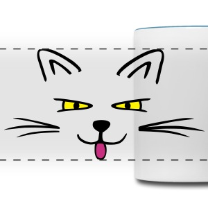 Funny cat Mugs & Drinkware - Panoramic Mug