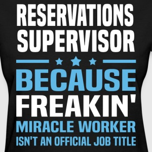 Reservations Supervisor - Women's T-Shirt