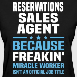 Reservations Sales Agent - Women's T-Shirt