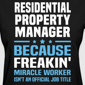 Residential Property Manager - Women's T-Shirt