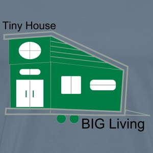 Men's Tiny House Living - Men's Premium T-Shirt
