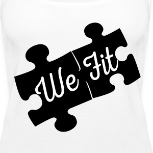 Women's We Fit Together Thank Top - Women's Premium Tank Top