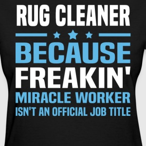 Rug Cleaner - Women's T-Shirt