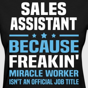 Sales Assistant - Women's T-Shirt