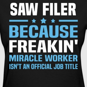 Saw Filer - Women's T-Shirt
